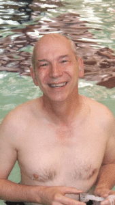 Les Bryan Swimming at the YMCA
