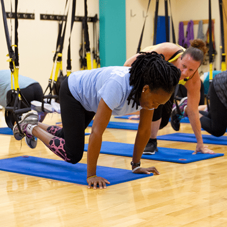 TRX classes are free for members and will help you meet new fitness challenges