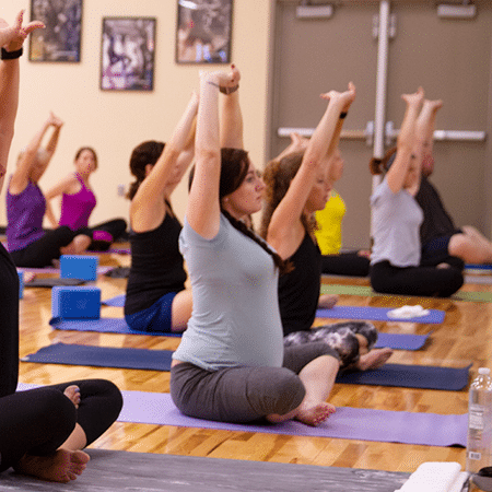 Yoga available for all levels of fitness even expectant moms