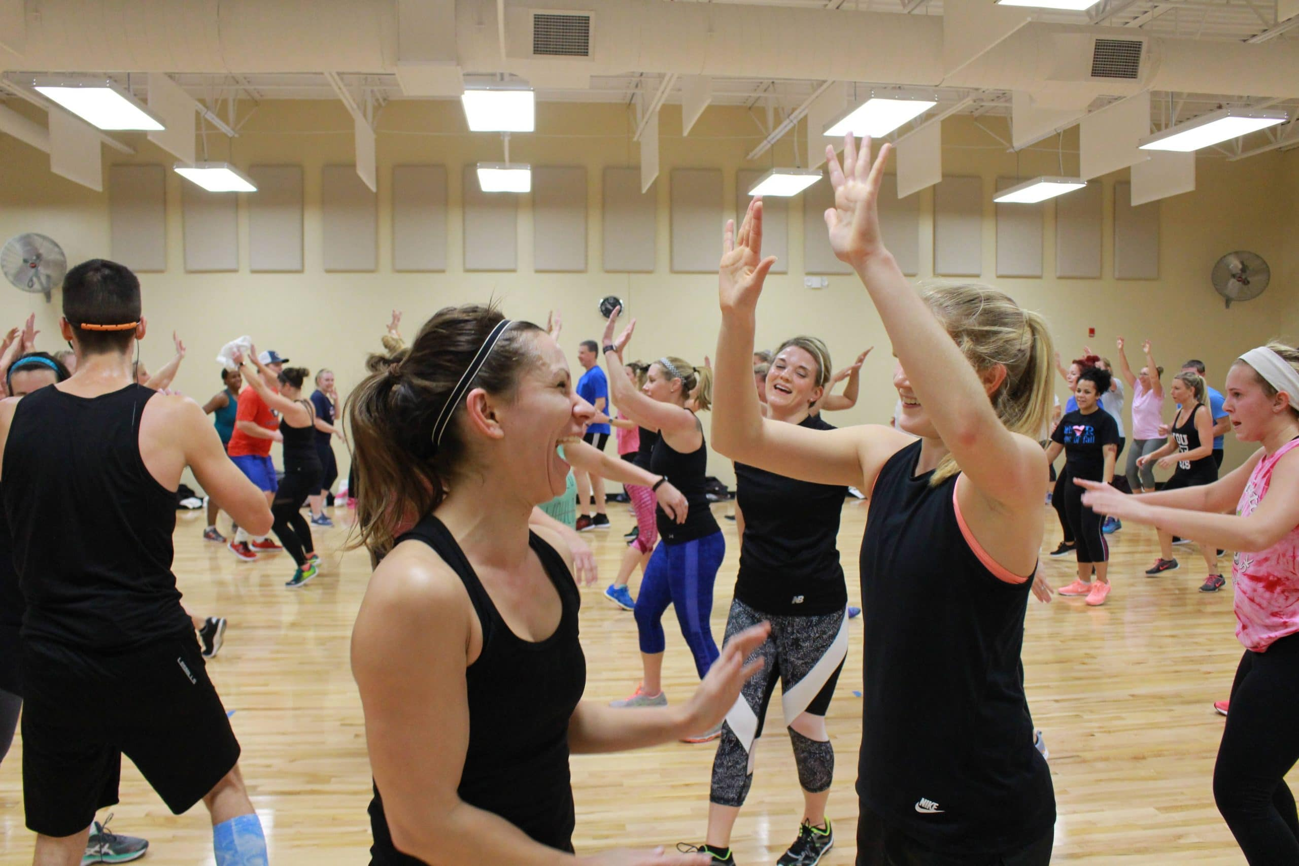 Get your high five at the Y