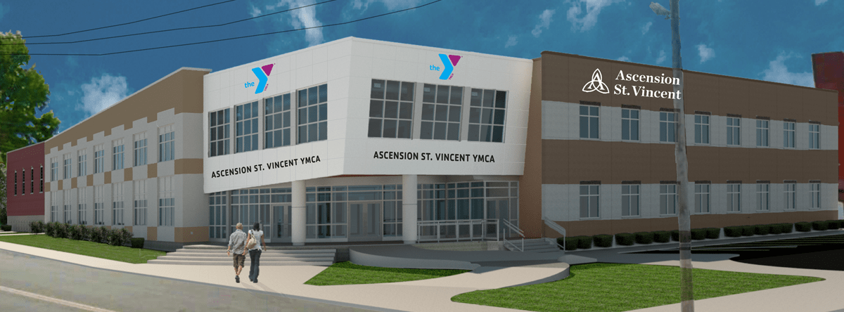 The Ascension St. Vincent YMCA will have a Grand Opening & Community Open House on September 5, 2019 4-6PM