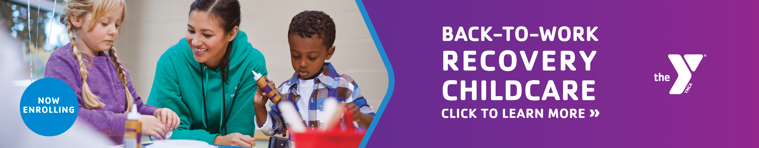 Back To Work Recovery Childcare Program is now enrolling
